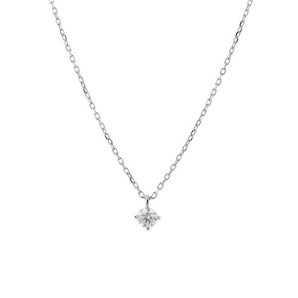 プラチナ ダイヤモンド(0.1ct) ネックレス/ブルーム(BLOOM)