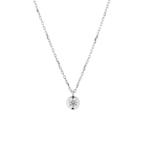 プラチナ ダイヤモンド(0.15ct) ネックレス/ブルーム(BLOOM)