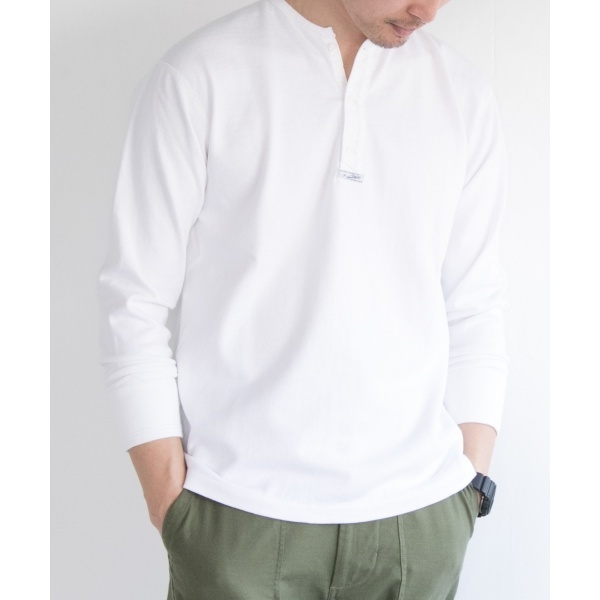 メンズTシャツ(FSC JP SURPLUS HENLEY NECK LONG-SLEEVE)/アーバンリサーチ(メンズ)(URBAN RESEARCH)
