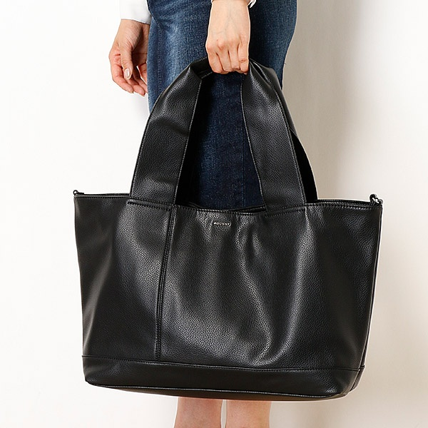*梅雨時に強い合皮のバッグ*売れ筋商品* トートバッグ/マウジー(バッグ&ウォレット)(MOUSSY)