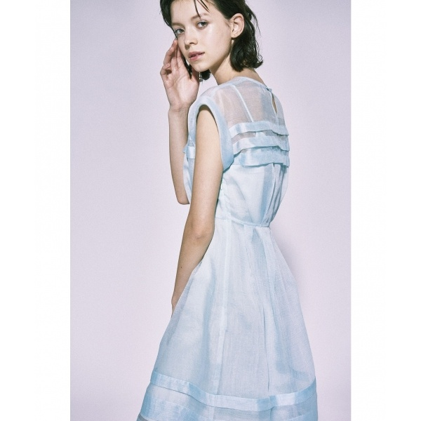 【Enlee.】AIRY LINEN ORGANDY ドレス/トッカ(TOCCA)