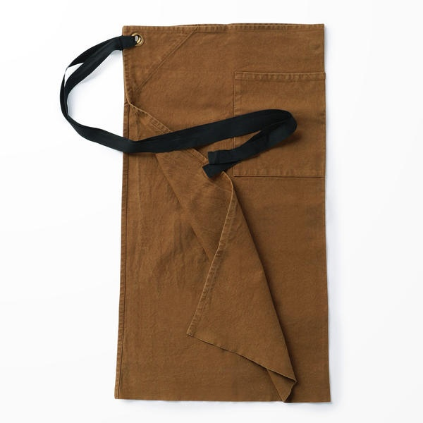 【LABOUR AND WAIT】C027 WAIST APRON WITH POCKET/ビショップ(Bshop)