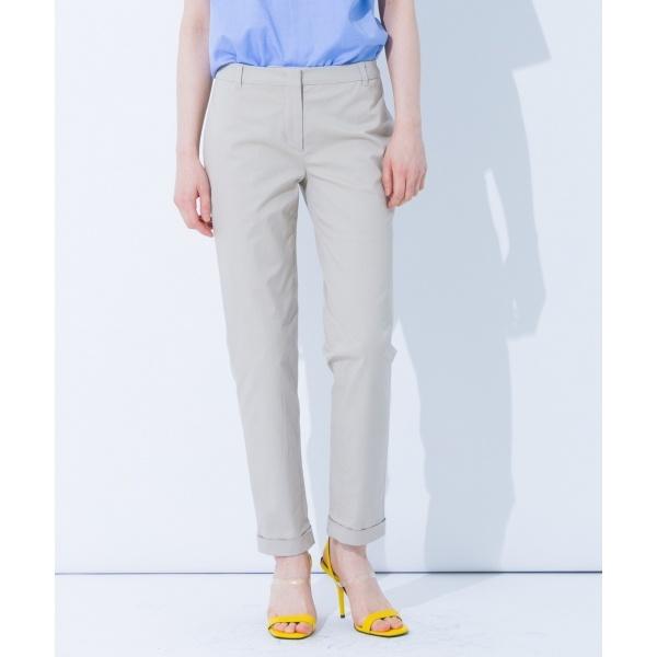 【春のおすすめパンツ】チノツイルストレッチ パンツ/カルバン・クライン ウィメン(Calvin Klein women)