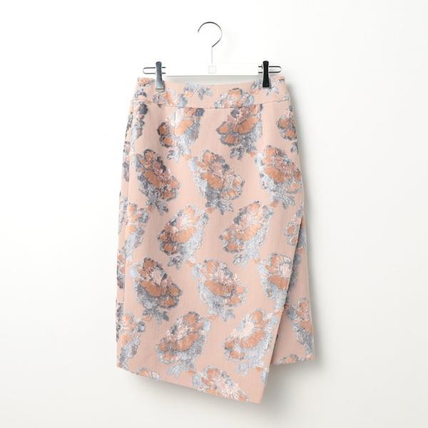 フラワーパイルジャガードタイトスカート/ノーリーズ レディース(NOLLEY'S)