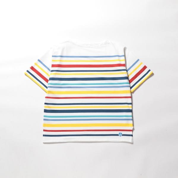 【ORCIVAL/オーシバル】半袖 バスクシャツ (RC01WM1952C/6116)/ノーリーズ メンズ(NOLLEY'S)