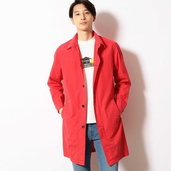 ブロード製品染め シャツコート/パープル&イエロー(Purple & Yellow)