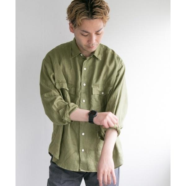 メンズシャツ(PORTER CLASSIC×URBAN RESEARCH 別注ROLLUPSHIRT)/アーバンリサーチ(メンズ)(URBAN RESEARCH)