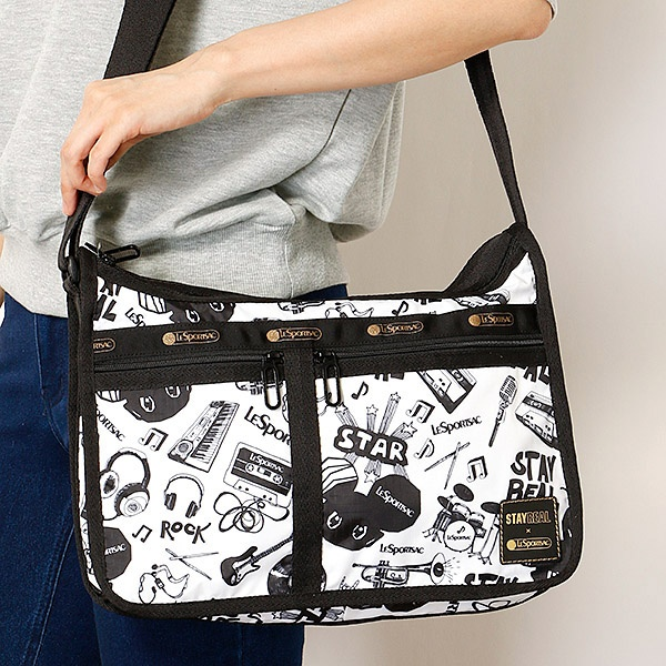 DELUXE EVERYDAY BAG/ステイリアル ロック/レスポートサック(LeSportsac)