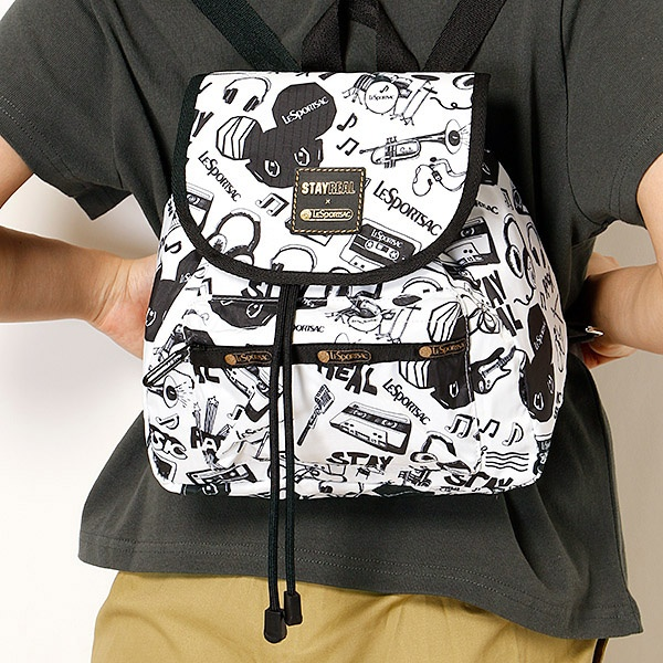SMALL EDIE BACKPACK/ステイリアル ロック/レスポートサック(LeSportsac)