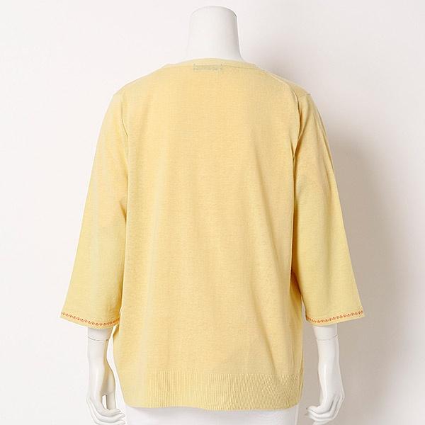 グリーンノート 【大きいサイズ】 レース付きTシャツ/ (greennout) 【13・15・19号】 (大きいサイズ)