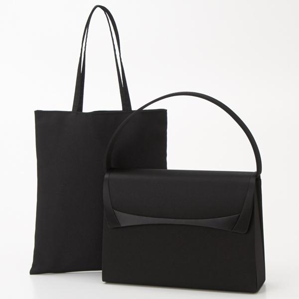 【日本製】ブラックフォーマルバッグ/東京ソワール(ブラックフォーマル)(TOKYO SOIR BLACK FORMAL)