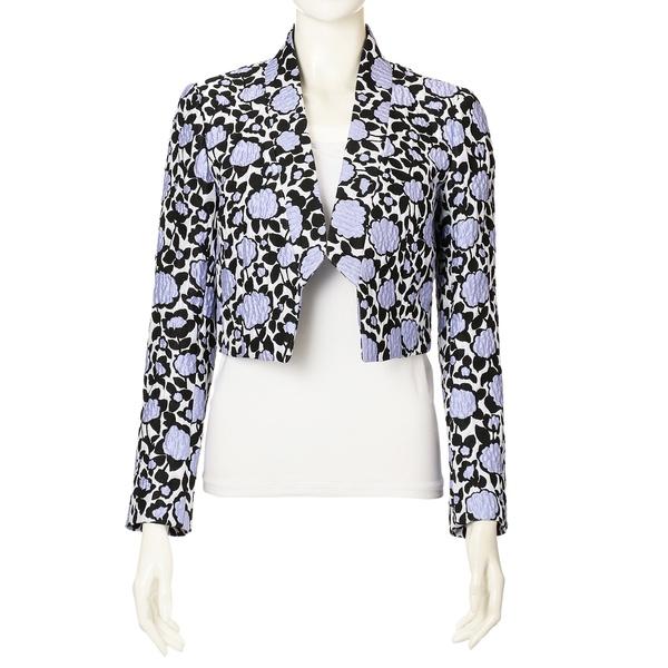 【Dress Collection】フラワージャカードジャケット/トゥービーシック(TO BE CHIC)