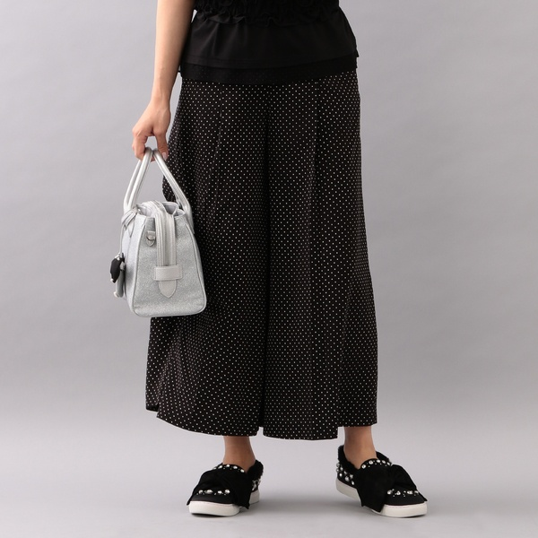 【WEB限定】【Tricolore】プチドットパンツ/トゥービーシック(TO BE CHIC)