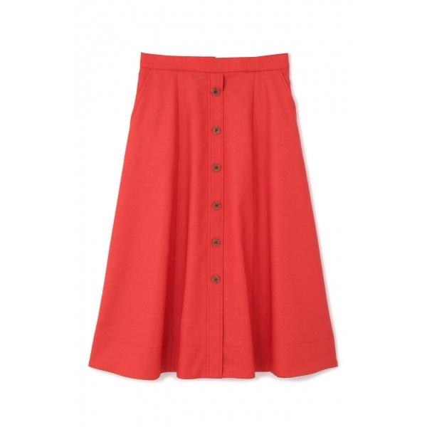 ◆大きいサイズ◆前釦付きスカート/アリスバーリー(Lサイズ)(Aylesbury)