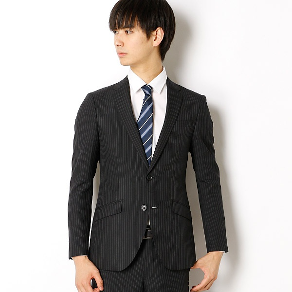【WEB限定】スリム ストライプスーツ/テットオム(TETE HOMME)