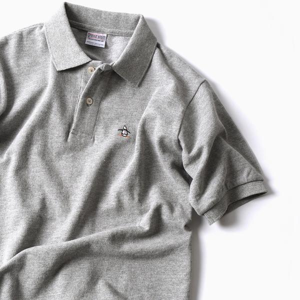 MUNSINGWEAR: 別注 MADE IN USA 70'S 復刻 ポロシャツ(グレー)/シップス(メンズ)(SHIPS)