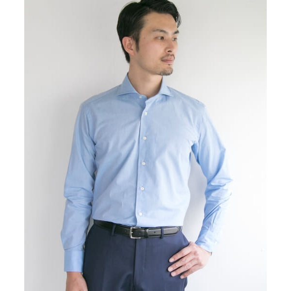 メンズシャツ(URBAN RESEARCH Tailor コットンリネンタイプライターシャツ)/アーバンリサーチ(メンズ)(URBAN RESEARCH)