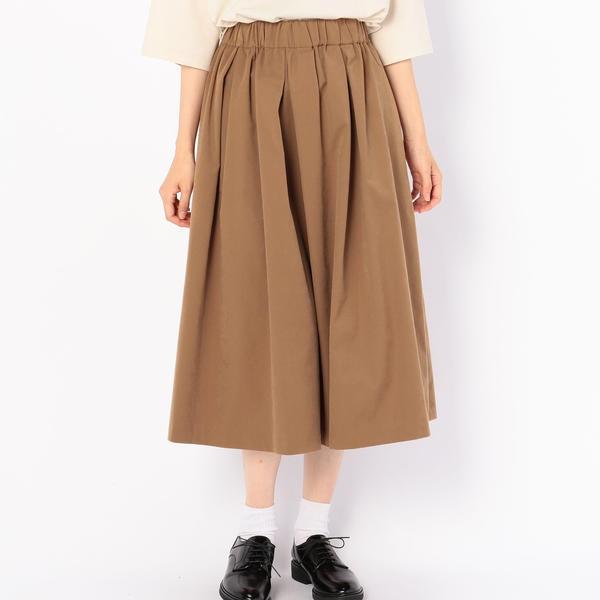 【MORRIS & SONS】タックギャザースカート WOMEN/ビショップ(レディース)(Bshop)
