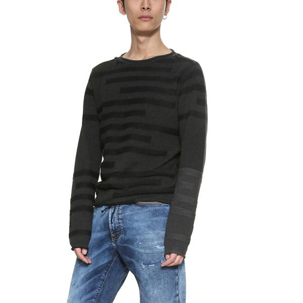ショルダージップ付きセーター(長袖)/デシグアル(Desigual)