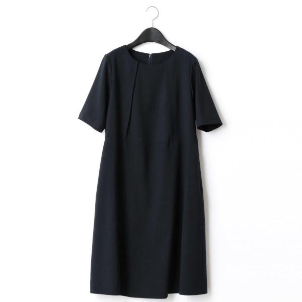 ウエスト切替ドレス(マタニティ)/コムサブロンドオフ(COMME CA BLANC D'OEUF)