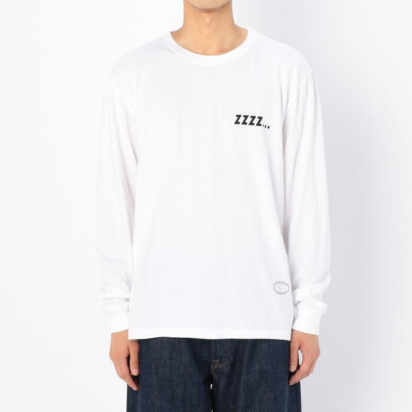 【TANGTANG】長袖Tシャツ SLEEP WHT / MEN/ビショップ(メンズ)(Bshop)
