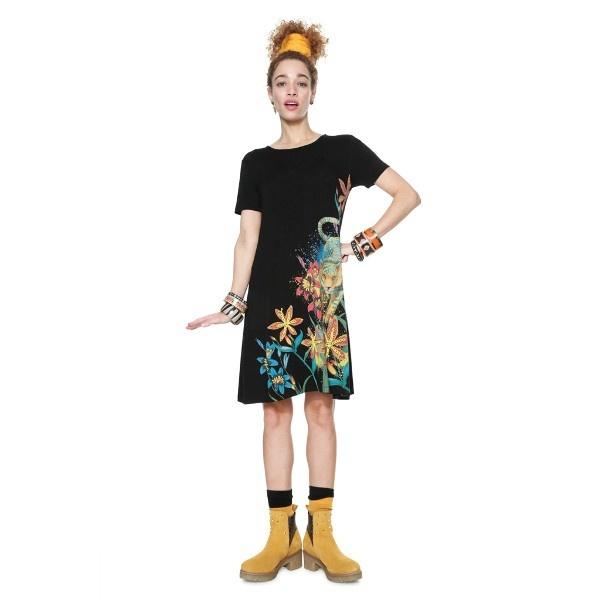 「Desigual/デシグアル」 ドレス(半袖) VEST_AGRA/デシグアル(Desigual)