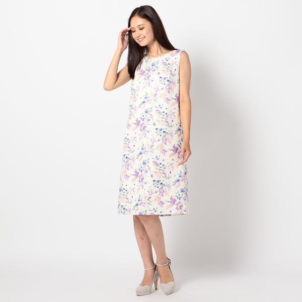 花柄ノースリーブワンピース/ミューズ リファインド クローズ(MEW'S REFINED CLOTHES)