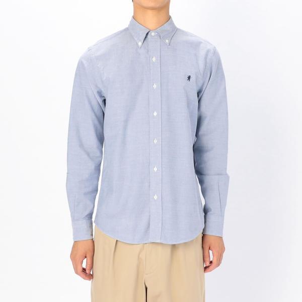 【Gymphlex】オックスフォード ボタンダウンシャツ MEN/ビショップ(メンズ)(Bshop)