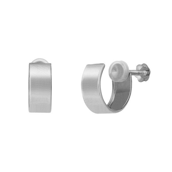 K10フラットフープイヤリング( WG)/テイクアップ ピュア(TAKE-UP PURE)