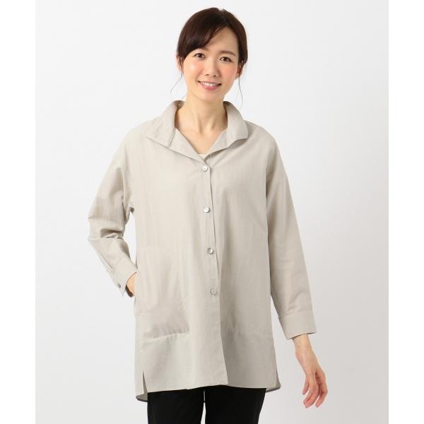 【撥水加工】ネオノックススタンドシャツジャケット ブラウス/ジェーン モア(JANE MORE)