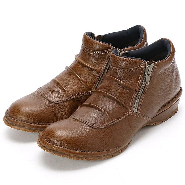 SALE ブーツ ダブルファスナーコンフォートシューズ 市場 ハートレーベル JS 新発売