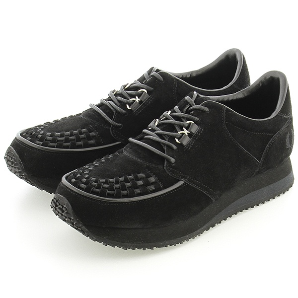 【18SS】RUNNING RUBBERSOLE SUEDE/フレッドペリー(メンズ)(FRED PERRY)