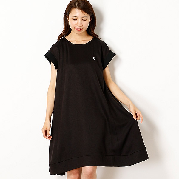 【18AW】A LINE DRESS/フレッドペリー(レディス)(FRED PERRY)