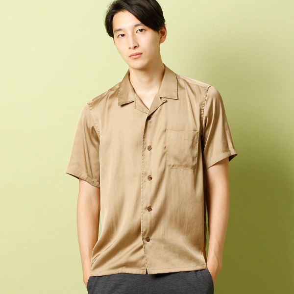 オープンカラーシャツ/コムサコミューン(COMME CA COMMUNE)