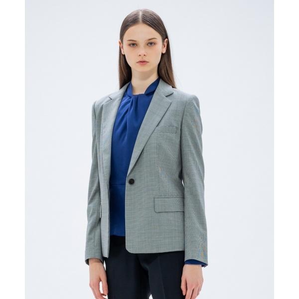 【2018AW COLLECTION】ミニハウンドトゥース テーラードジャケット/カルバン・クライン ウィメン(Calvin Klein women)