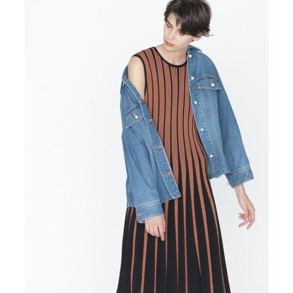 アーミーデニムシャツジャケット/グレースコンチネンタル(GRACE CONTINENTAL)