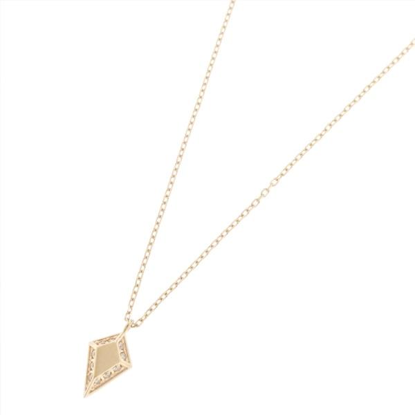 アクセ類(ダイヤモンド とり巻き 変形ひし形 ネックレス)/ココシュニック(COCOSHNIK)