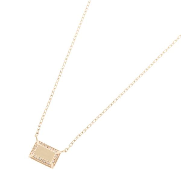 ダイヤモンド とり巻き スクエア ネックレス/ココシュニック(COCOSHNIK)