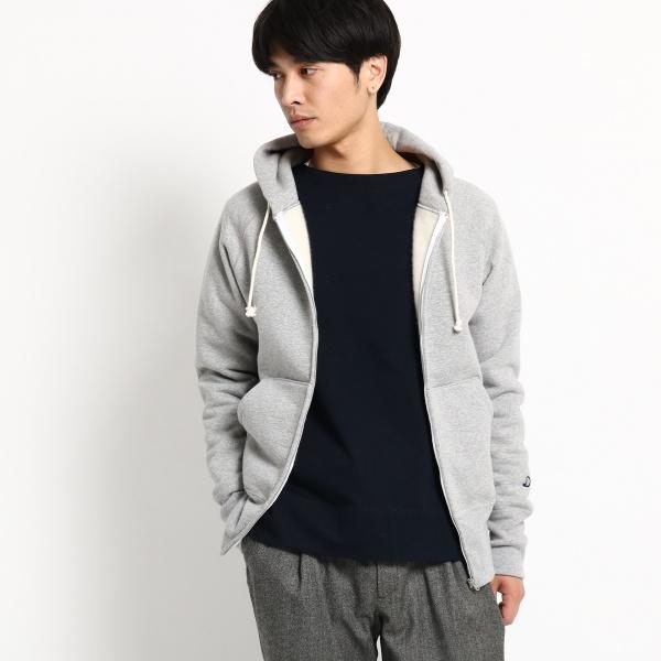 MTシャツ(【20周年記念モデル】カシミヤジップアップパーカー)/ドレステリア(メンズ)(DRESSTERIOR Mens)