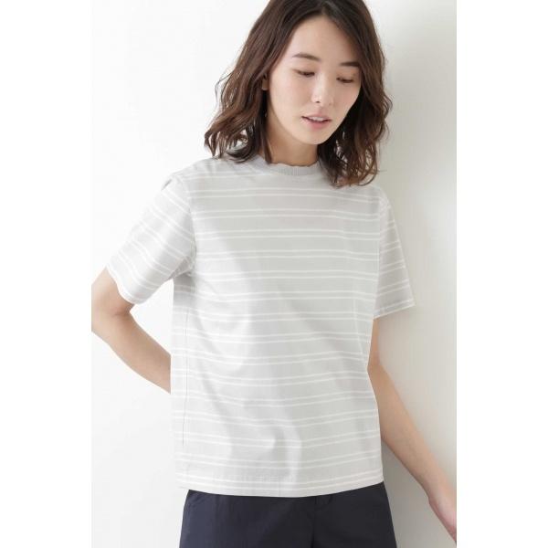 ニット付属Tシャツ/ヒューマンウーマン(HUMAN WOMAN)