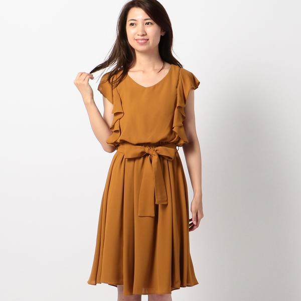 フリル袖サマーワンピース/ミューズ リファインド クローズ(MEW'S REFINED CLOTHES)