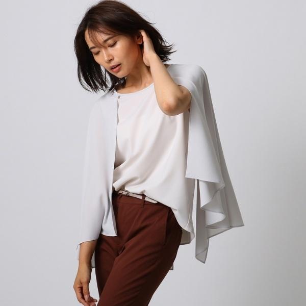 【洗える】マントデザインシャツ/アンタイトル(UNTITLED)