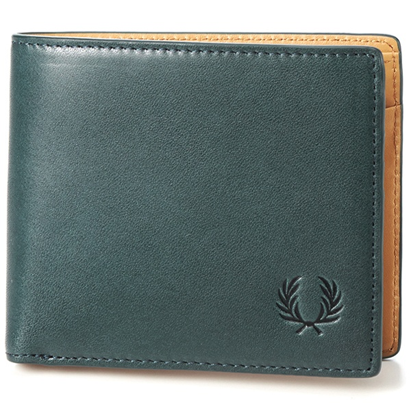 【18AW】LEATHER BILLFOLD/フレッドペリー(雑貨)(FRED PERRY)