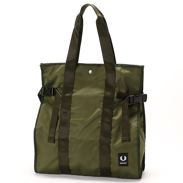 【18AW】LAUREL LEAF DYED TOTE BAG/フレッドペリー(雑貨)(FRED PERRY)