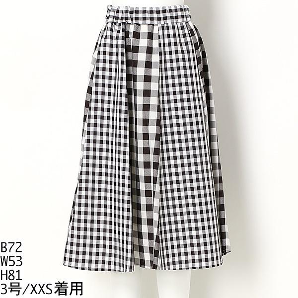 ミックスプリントスカート/S357(小さいサイズ)(S357)