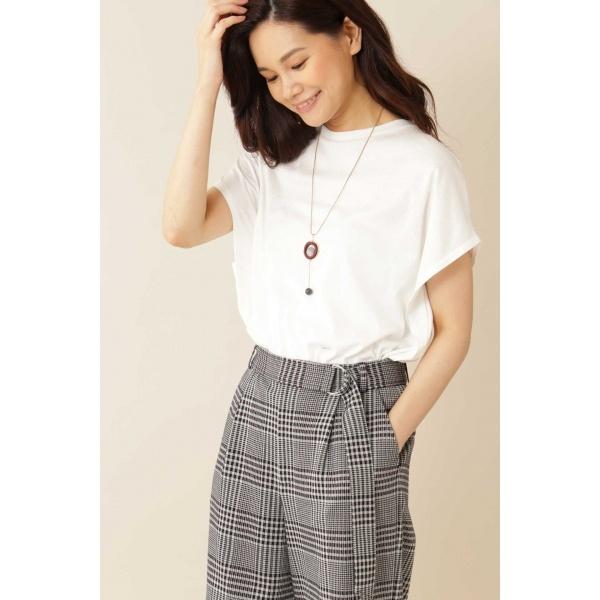 ◆[Weekend Line]マットフライスTシャツ/ヴァンドゥー・オクトーブル(22 OCTOBRE)