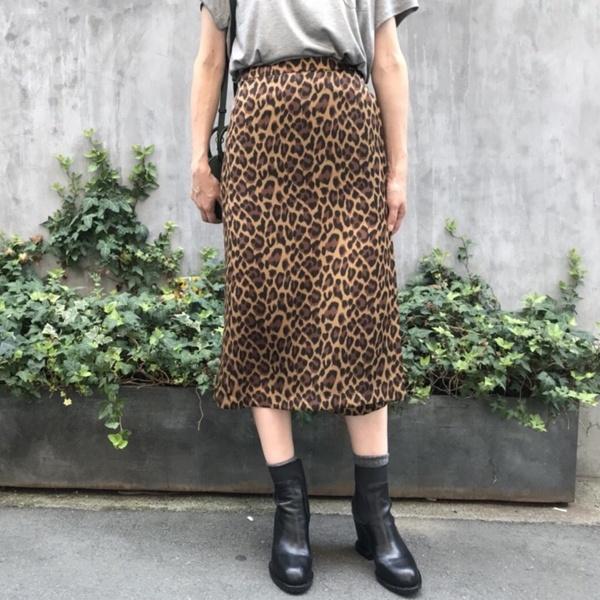 レオパードラップスカート/アクアガール(aquagirl)