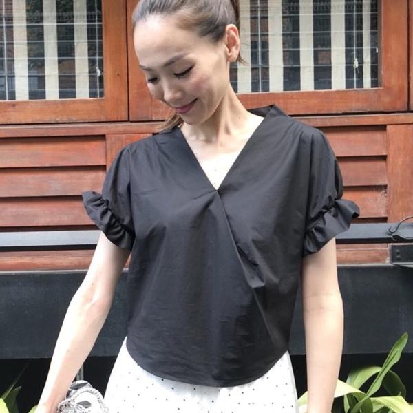 スタンドネックシャツ/アクアガール(aquagirl)