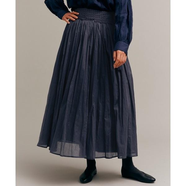 レディススカート(siiwa フリンジ刺繍レースロングスカート)/アーバンリサーチ ドアーズ(レディース)(URBAN RESEARCH DOORS)