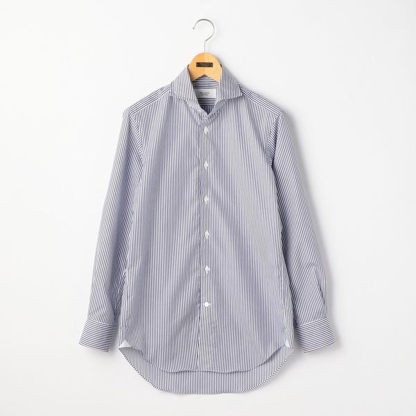 100/2 ノンプレスワイドカラーシャツ/ノーリーズ メンズ(NOLLEY'S)